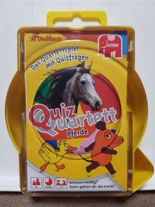 Die Maus: Quizquartett Pferde