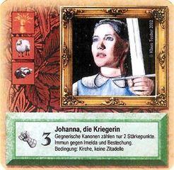 Die Siedler von Catan: Das Kartenspiel – Sonderkarte 2002 – Johanna, die Kriegerin