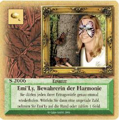 Die Siedler von Catan: Das Kartenspiel – Sonderkarte 2006 – Emi'Ly, Bewahrerin der Harmonie