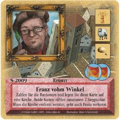 Die Siedler von Catan: Das Kartenspiel – Sonderkarte 2009 – Franz vohm Winkel