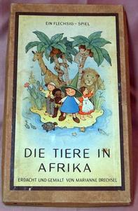 Die Tiere in Afrika