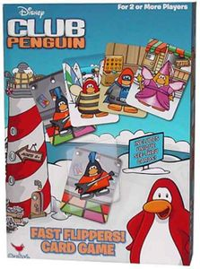 Disney Club Penguin Card Game Fast Flippers!