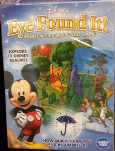 Disney Eye Found It!: Hidden Picture Card Game
