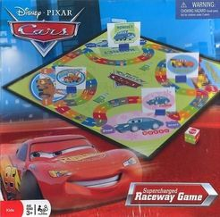 Disney Pixar Cars Supercharged Raceway Game