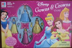 Disney Princess Gowns & Crowns Game