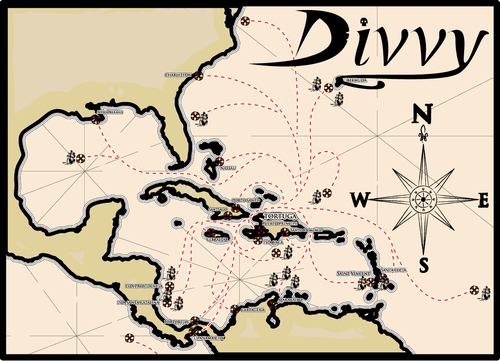 Divvy: The Pirate Loot Game