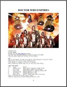 Doctor Who Empires