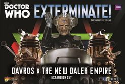 Doctor Who: Exterminate! The Miniatures Game – Davros & The New Dalek Empire