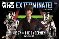 Doctor Who: Exterminate! The Miniatures Game – Missy & the Cybermen