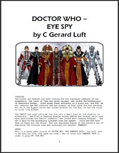 Doctor Who: Eye Spy