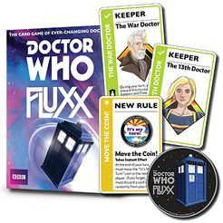 Doctor Who Fluxx: Coin & Doctors