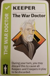 Doctor Who Fluxx: The War Doctor Promo