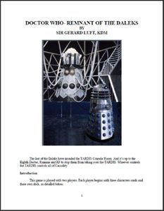 Doctor Who: Remnant of the Daleks