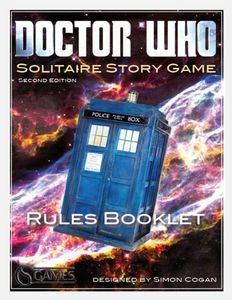 Doctor Who: Solitaire Story Game (Second edition)