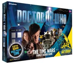 Doctor Who: The Time Wars Family Board Game