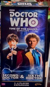 Doctor Who: Time of the Daleks – Second Doctor & Sixth Doctor