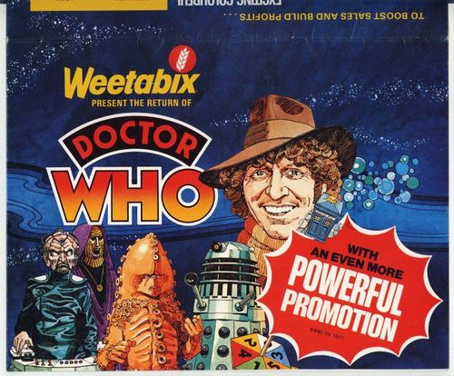 Doctor Who Weetabix Action Game