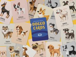 Doggo Cards: Three in One Classic Card Game