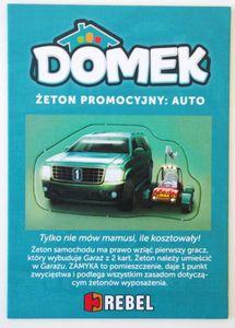 Domek: Promo Token – Car