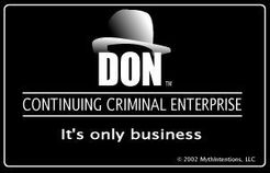 Don: Continuing Criminal Enterprise