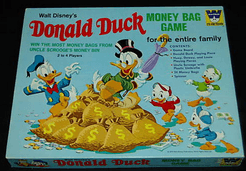Donald Duck Money Bag