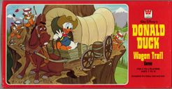 Donald Duck Wagon Trail Game