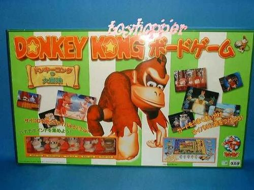 Donkey Kong Board Game