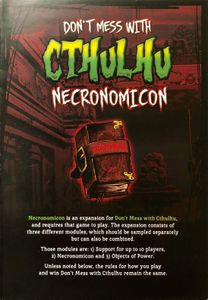 Don't Mess With Cthulhu: Necronomicon