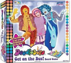 Doodlebops Get on the Bus! Game