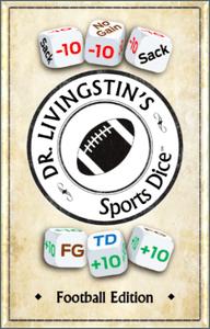 Dr. Livingstin's Sports Dice: Football Edition