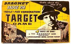 Dragnet Badge 714 Target Game