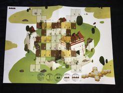 Dragon Castle: Spielbox 02/18 Promo Boards