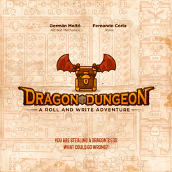 Dragon Dungeon: A roll and write adventure