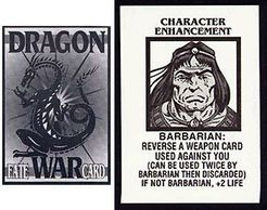 Dragon War: Character Enhancement Fate Card Set