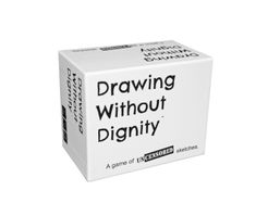 Drawing Without Dignity: An Adult Party Game of Uncensored Sketches