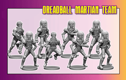 DreadBall: Mars Attacks Martian Team