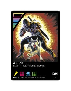 DropMix: G.I. Joe – Main Title Theme (Remix) Promo Card