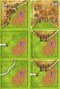 Drought And Pestilence (fan expansion to Carcassonne)