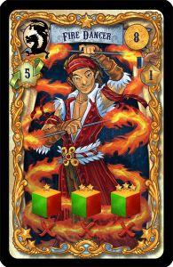 Drum Roll: Fire Dancer
