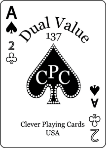 Dual Value Playing Cards