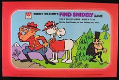 Dudley Do-Right's Find Snidely Game