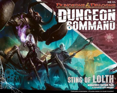 Dungeon Command: Sting of Lolth Board Game | BoardGames com