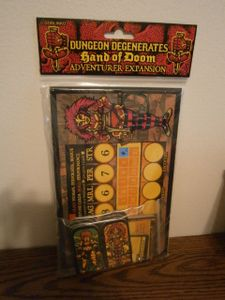 Dungeon Degenerates: Hand of Doom – Adventurer Expansion