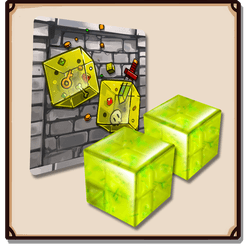 Dungeon Drop: Gelatinous Cubes Mini-Expansion