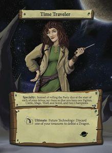 Dungeon Roll Hero: Time Traveler