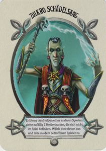 Dungeon Time: Zulkro Schädelsang Promo Card