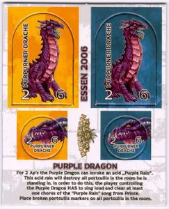 Dungeon Twister: Purple Dragon