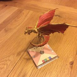 Dungeons & Dragons: Attack Wing – Ancient Brass Dragon Expansion Pack