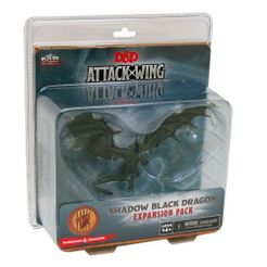 Dungeons & Dragons: Attack Wing – Shadow Black Dragon Expansion Pack