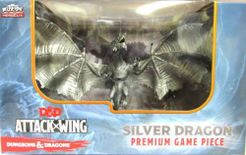 Dungeons & Dragons: Attack Wing – Silver Dragon Premium Figure